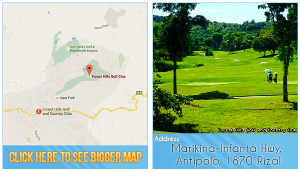 Forest Hills Golf and Country Club Location, Map and Address