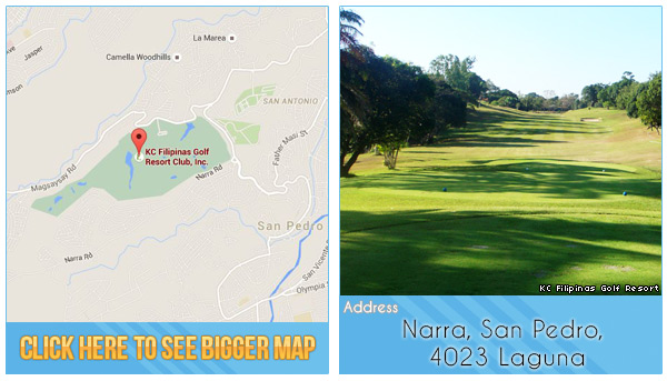 KC Filipinas Golf Resort Location, Map and Address