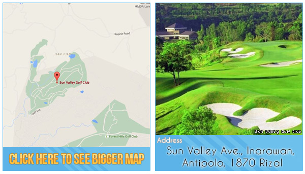 Sun Valley Golf Club Location, Map and Address