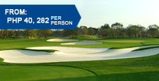 Kunming Golf Packages - 3 Days 2 Nights at $725/pax