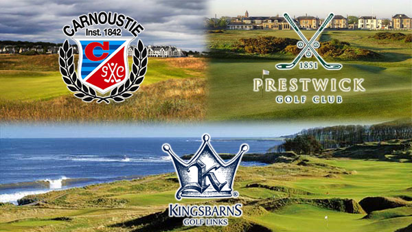 Carnoustie-Kingsbarns-Prestwick