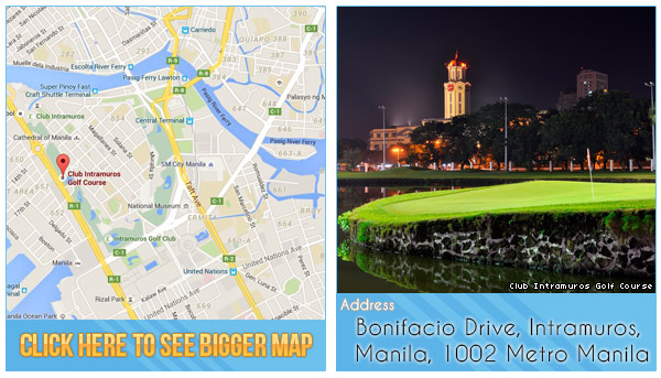 Club Intramuros Golf Course Location, Map and Address