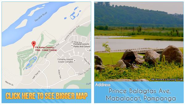 FA Korea Country Club Location, Map and Address