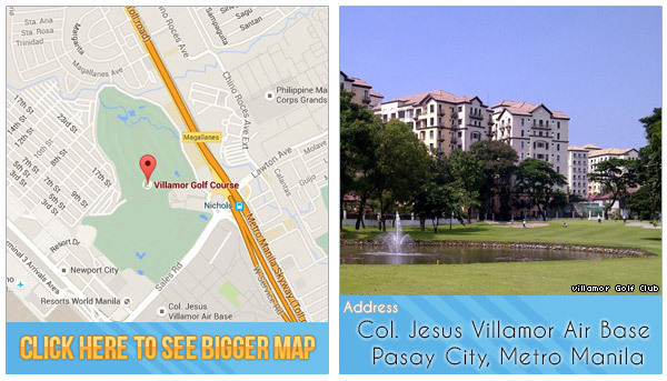 Villamor Golf Club Location, Map and Address
