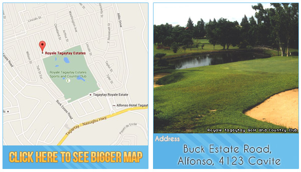 oyale Tagaytay Golf and Country Club Location, Map and Address