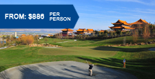 Shenzhou Golf Packages - 4 Days 3 Nights at $754/pax