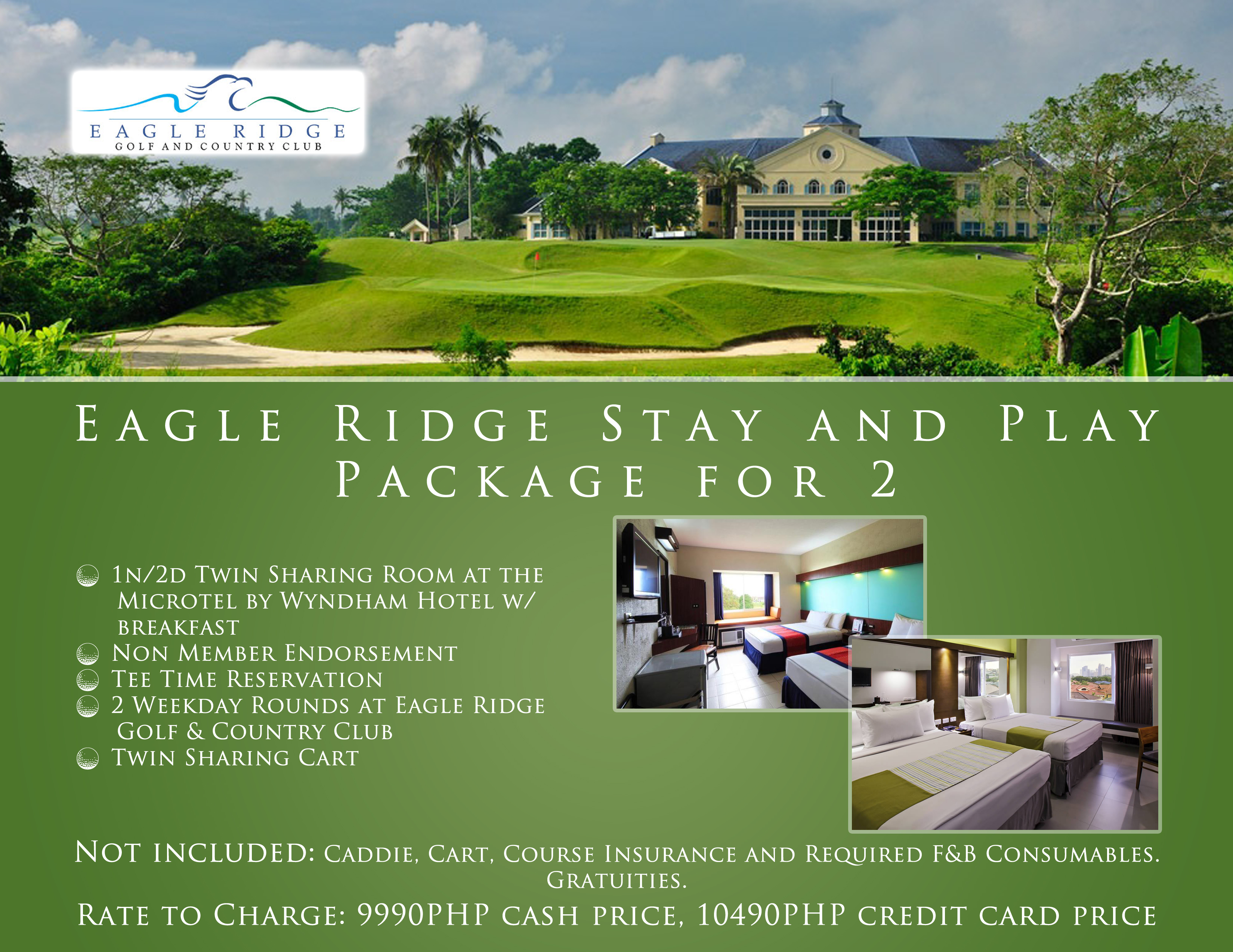 Offer #1 - Eagle Ridge Stay and Play Package for 2