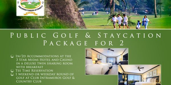 Offer #10 - Public Golf & Staycation Package for 2