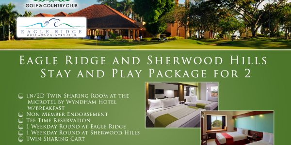 Offer #2 - Eagle Ridge and Sherwood Hills Stay and Play Package for 2