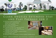 Offer #6 - Clark Angeles Extended Stay and Play Package for 2